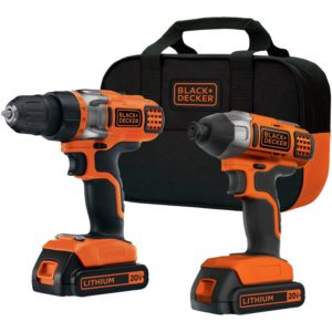 BLACK+DECKER BDCD220IA 20-Volt MAX Lithium-Ion Drill-Driver and Impact Driver with 2 Batteries - Best Gift Ideas for Men