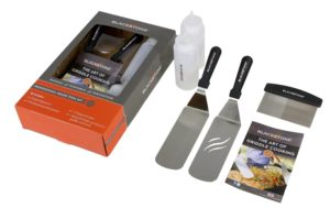 Blackstone 5 Piece Professional Grade Grill Griddle BBQ Tool Kit with FREE Recipe Book - Great for Flat Top Cooking