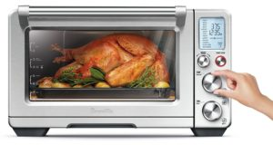Gift Ideas for Mom - Breville BOV900BSS The Smart Oven Air, Silver