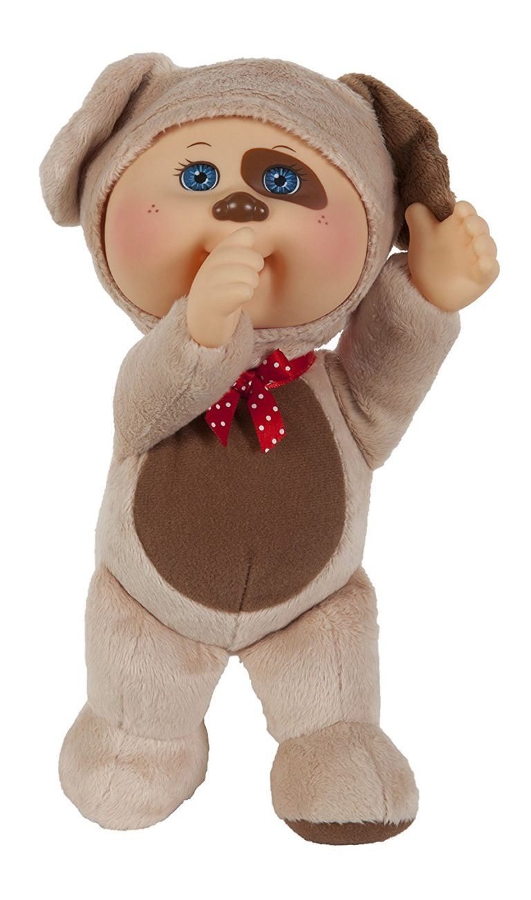 Gift Ideas for Girls - Cabbage Patch Kids Cuties Collection, Parker the Puppy Cutie Baby Doll