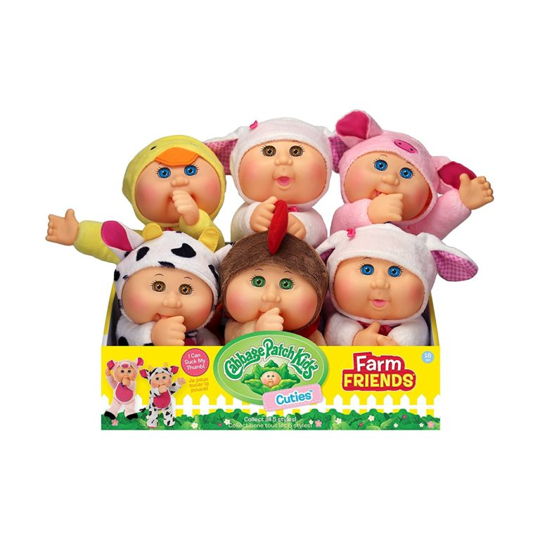 Cabbage Patch Kids Cuties Collection, Petunia the Pig Baby 3