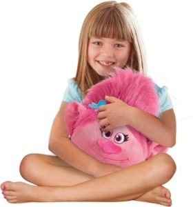 DreamWorks Trolls Pillow Pets Branch - Be Practical with Branch Stuffed Animal Plush Toy Pink