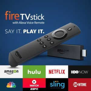 Fire TV Stick with Alexa Voice Remote - Streaming Media Player