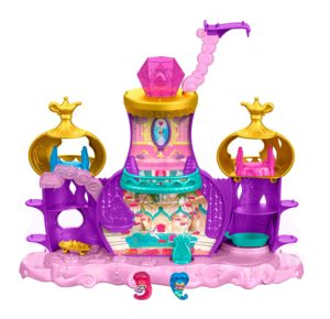 Fisher-Price Nickelodeon Shimmer & Shine, Teenie Genies Floating Genie Palace Playset - Hot toys for Girls