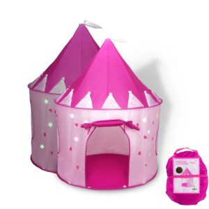 gift ideas for girls - FoxPrint Princess Castle Play Tent with Glow in the Dark Stars