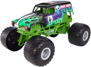 Hot Wheels Monster Jam Giant Grave Digger Truck - Hottest Toys for Boys