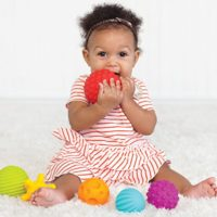 Infantino Textured Multi Ball Set Toys for Girls
