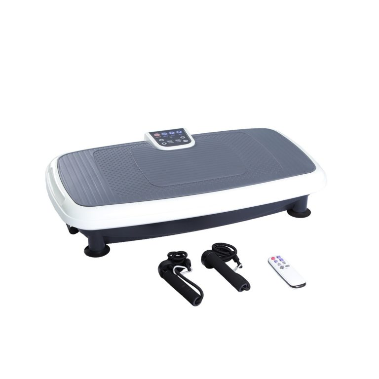 Gifts for fitness lovers - JUFIT Vibration Platform,Full Body Shape Exercise Machine,Vibration Plate ,Fit Massage Power Plate with Two Bands &Remote Max User Weight 450lb