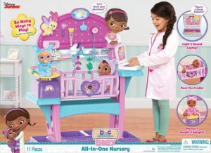 Just Play Doc Mcstuffins Baby All in One Nursery Toy - Hottest Toys for Girls