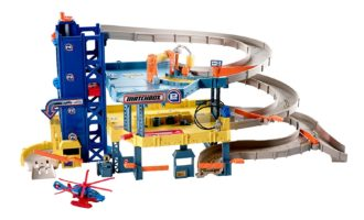 Matchbox 4-Level Garage Play Set - Gift ideas for a 6 year old