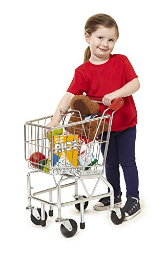 new toys for girls - Melissa & Doug Toy Shopping Cart With Sturdy Metal Frame