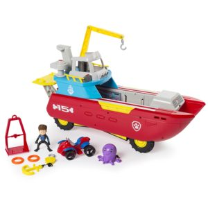 Paw Patrol Sea Patroller Transforming Vehicle with Lights and Sounds