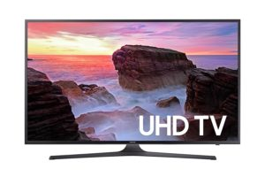Samsung Electronics UN75MU6300 75-Inch 4K Ultra HD Smart LED TV (2017 Model) - Best Gift Ideas for Men