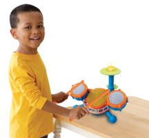 VTech KidiBeats Kids Drum Set - Birthday Gifts for Boys
