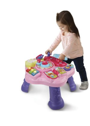 gift ideas for girls - VTech Magic Star Learning Table, Pink (Frustration Free Packaging)