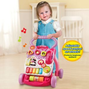 gift ideas for girls - VTech Sit-to-Stand Learning Walker - Pink