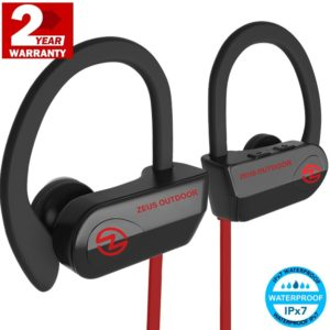 Wireless Headphones (IMPROVED v.2017) ZEUS OUTDOOR - Workout Headphones - Running Headphones - Best Wireless Earbuds