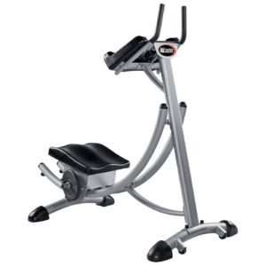 Abcoaster Max Deluxe with Weights- The Back & Neck Safe, Top Rated Abdominal Fitness Machine