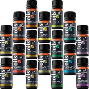 ArtNaturals Aromatherapy Top-16 Essential Oil Set - 16x10ml - Pure of the Highest Therapeutic Grade Quality