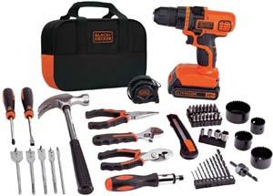 BLACK+DECKER Home Tool Kit