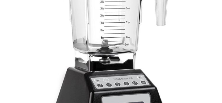 Top of the line Blendtec Total Blender Classic, with FourSide Jar, Black