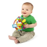 Bright Starts Clack and Slide Activity Ball Best Toys for 3 mos to 24 mos