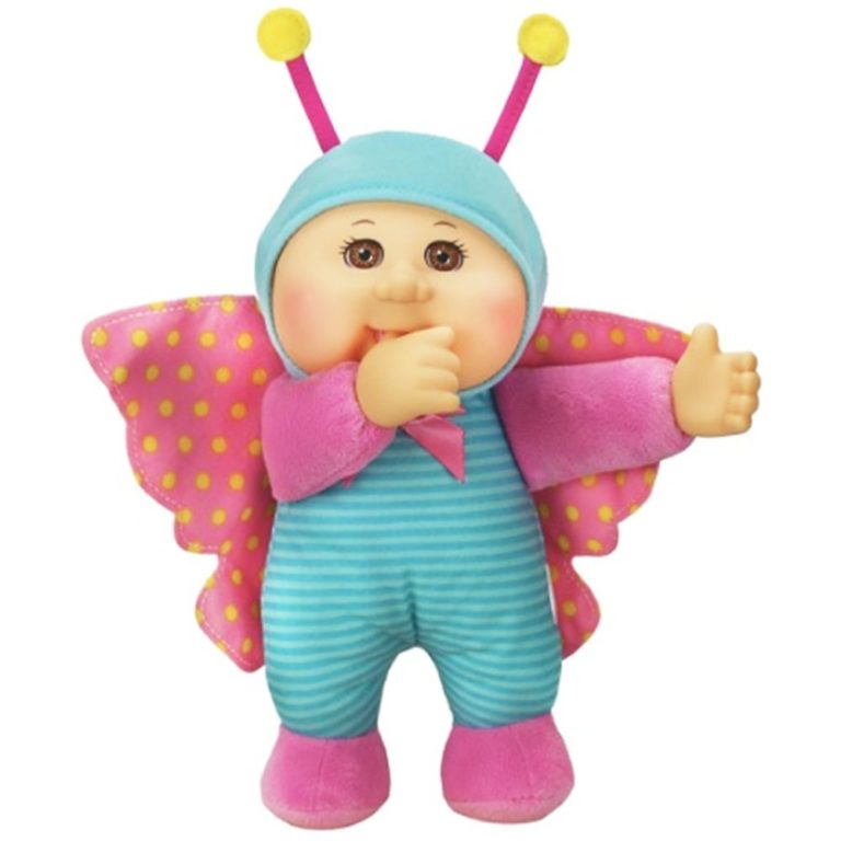 Cabbage Patch Kids 9 Inch Collectible Garden Party Softbody Cuties Doll, Lily Butterfly
