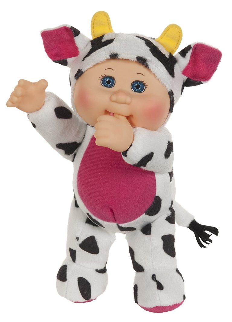Cabbage Patch Kids Clara Cow Cutie Baby Doll, 9in