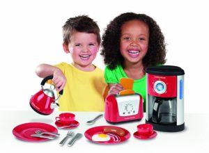 kitchen toys for girls - Casdon Little Cook Morphy Richards Kitchen Set