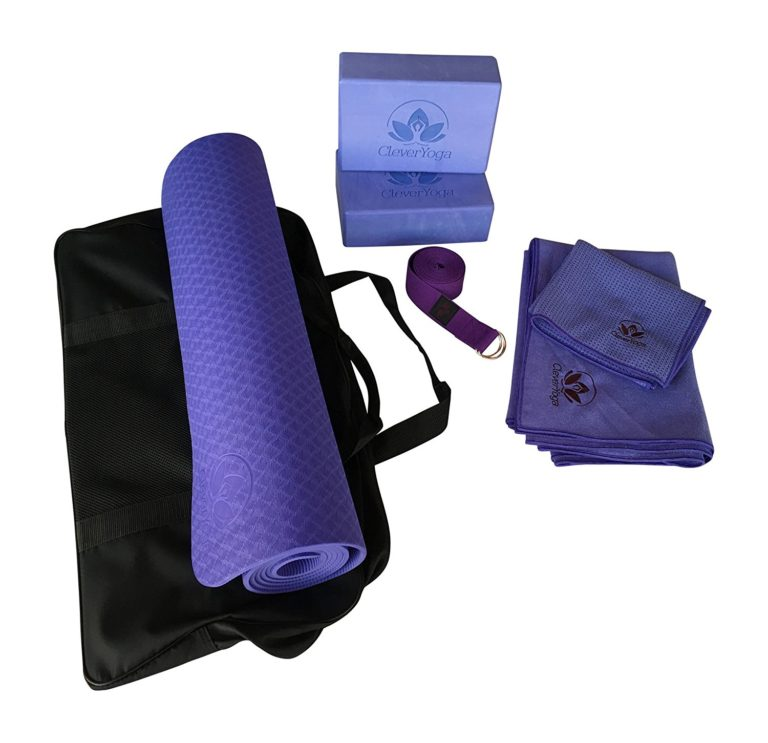 Complete Yoga Kit For Beginners - Yoga Exercise Mat, Perfect Gift For Yogis