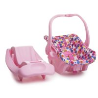 Doll Toy Car Seat - Pink Dot - Best Toys for Girls