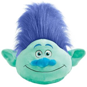 DreamWorks Trolls Pillow Pets Branch - Be Practical with Branch Stuffed Animal Plush Toy Blue