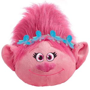 Hot new toys for girls - DreamWorks Trolls Pillow Pets Branch - Be Practical with Branch Stuffed Animal Plush Toy Pink