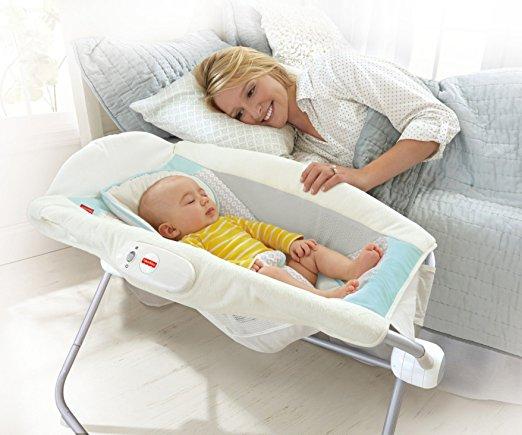 newborn gift ideas for baby girl - Fisher-Price Deluxe Rock 'n Play Sleeper, Moonlight Meadow