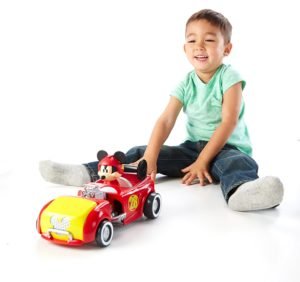 Fisher-Price - Disney Mickey and the Roadster Racers - Transforming Hot Rod Mickey
