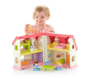 gift ideas for girls - Fisher-Price Little People Surprise & Sounds Home