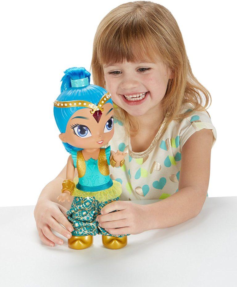 hot new toys for girls - Fisher-Price Nickelodeon Shimmer & Shine, Genie Dance Shine Doll