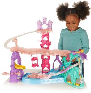 toddler toys girls - Fisher-Price Nickelodeon Shimmer & Shine, Teenie Genies Magic Carpet Adventure Playset