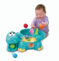 Fisher-Price Poppity-Pop Musical Dino - Gift Ideas for Boys and Girls