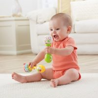 Fisher-Price Rattle and Rock Maracas Musical Toy Toys for Boys and Girls