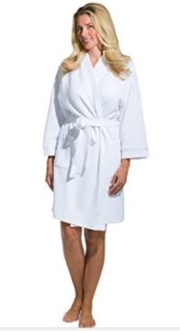 Fishers Finery Women's Kimono Resort Spa Robe