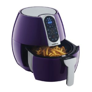 GoWISE USA 3.7-Quart Air Fryer with 8 Cook Presets (3.7QT, Plum)