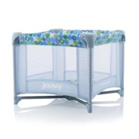Joovy Toy Room2 Playard, Blue Dot - Playpen for Boys