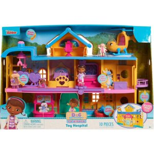 Just Play Doc McStuffins Toy Hospital Playset for Girls and Boys