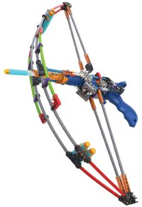 K'NEX K-FORCE Battle Bow Build and Blast Set – 165 Pieces – Gift Ideas for 8 year old plus Engineering Education Toy