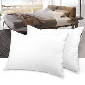 LANGRIA Luxury Hotel Collection Bed Pillows Plush Down Alternative Sleeping Pillow