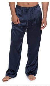 Men's Luxury Silk Pajama Pants (Hiruko) Comfortable Sleepwear