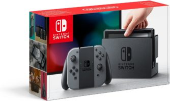 Nintendo Switch Console Gray Joy-Co