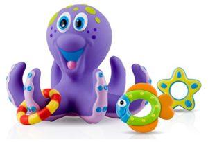 new toys for girls - Nuby Octopus Hoopla Bathtime Fun Toys, Purple