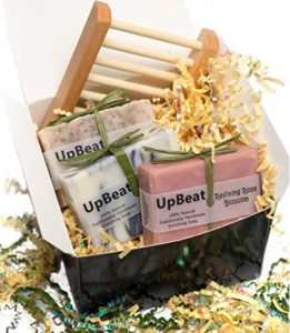 Olive Oil Soap-Natural Gift Set-4pc Handmade Luxury Set-Great Gifts for Women